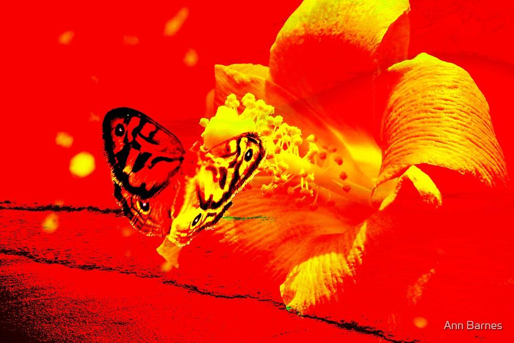 Butterfly Art #12 by Ann Barnes
