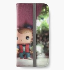 Christmas with Marty and Doc iPhone Wallet/Case/Skin
