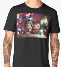 Christmas with Marty and Doc Men's Premium T-Shirt