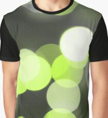 Bubbles of Light  Lime Graphic T-Shirt