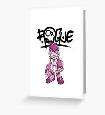 """Robobot """"Off to Mars"""" / Robo-Girl / Rogue Robot Greeting Card"""