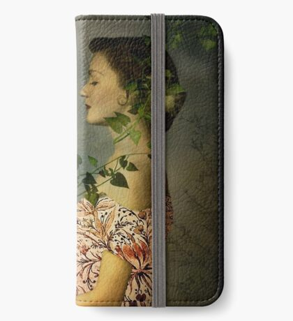 Der Botaniker iPhone Flip-Case
