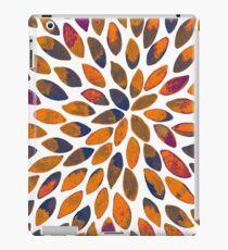 Watercolor brush strokes - rusty effect iPad Case/Skin