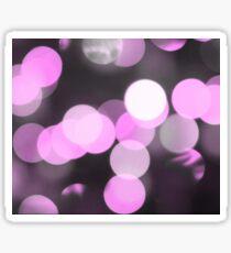 Bubbles of Light  Pink Sticker