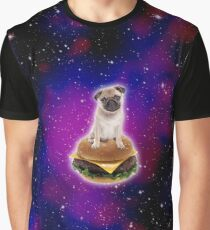 Burger Pug...IN SPACE! Graphic T-Shirt