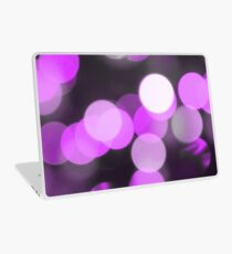 Bubbles of Light  Violet Laptop Skin