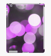 Bubbles of Light  Violet iPad Case/Skin
