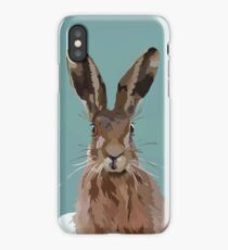 Winter Hare iPhone Case/Skin
