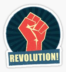 Revolution Sticker