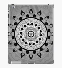 Gray-scale Mandala iPad Case/Skin
