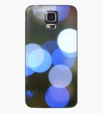 Bubbles of Light  Blue Case/Skin for Samsung Galaxy