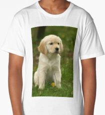 Golden Retriever! Puppy! Long T-Shirt