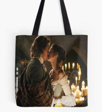 Outlander Diana Gabaldon Jamie and Claire Wedding Tote Bag