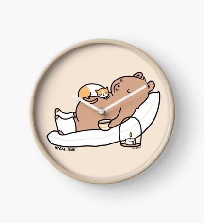 Hygge Bear Clock