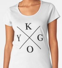 KYGO - Black Women's Premium T-Shirt
