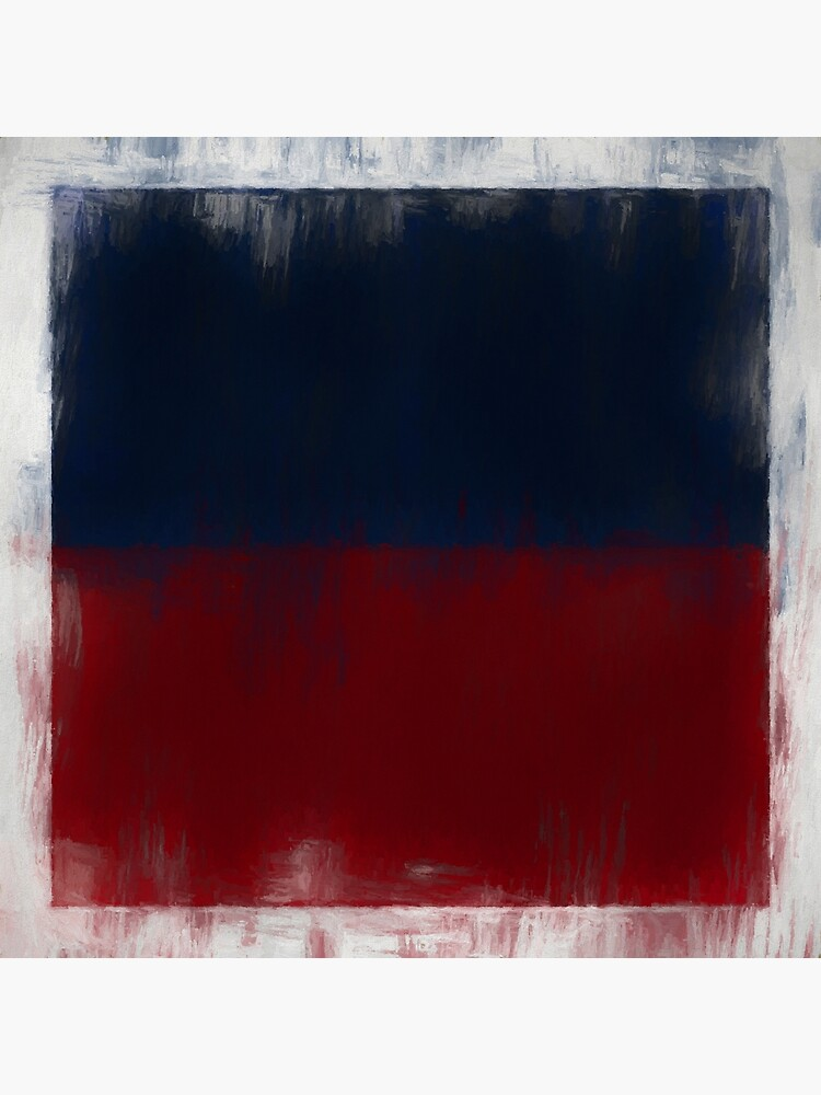 Haiti Flag Reworked No. 2, Series 2 by 8th-and-f