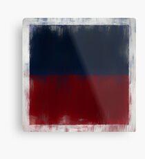 Haiti Flag Reworked No. 2, Series 2 Metalldruck