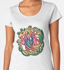 The Kelpie got a rainbow make-over. Black version Premium Scoop T-Shirt