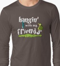 Hanging With My Reptile Friends Long Sleeve T-Shirt