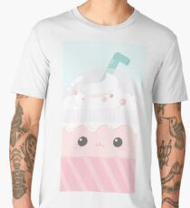 cute cappuccino  Men's Premium T-Shirt