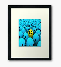 The Smiley Dude Framed Print
