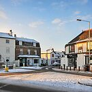 A Light Dusting of Snow on Thames Ditton  by MarcW