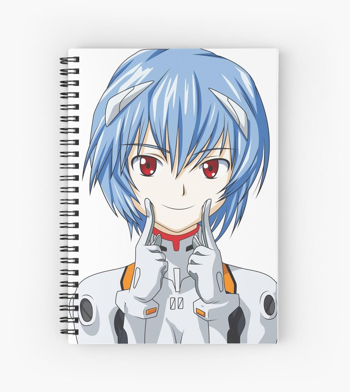 Rei Ayanami Cute Kawaii Neon Genesis Evangelion\
