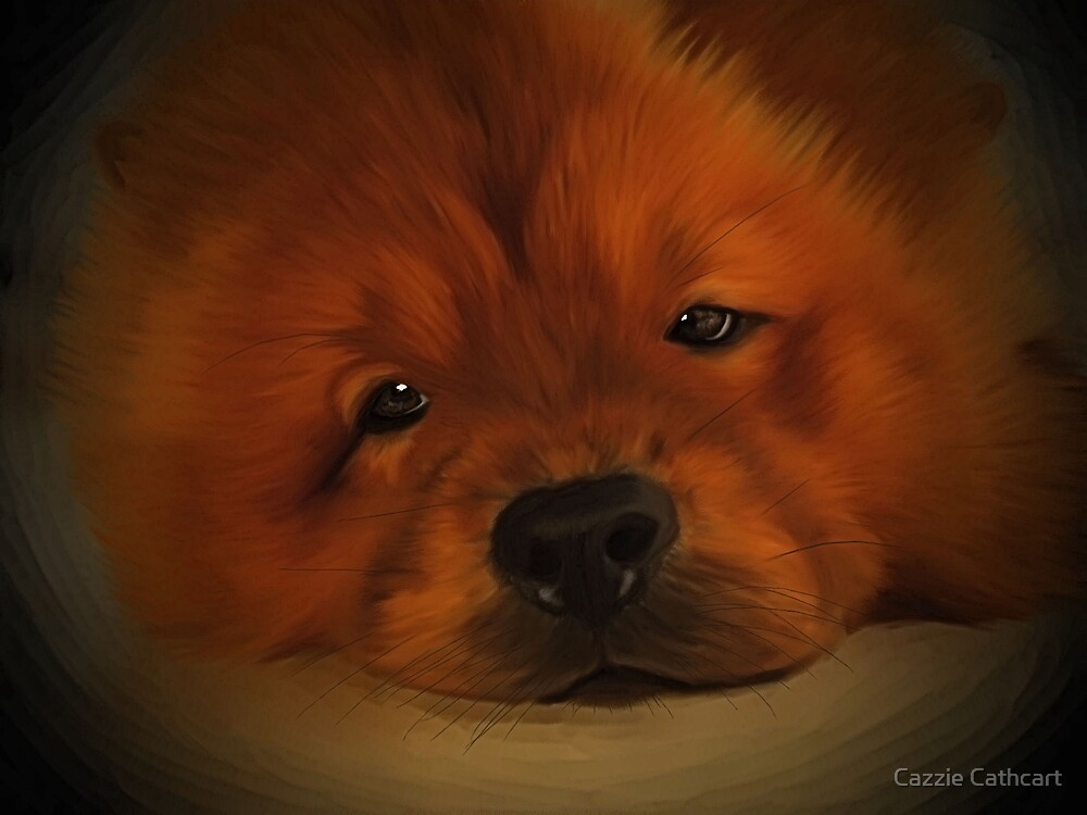 Udon the Chow Chow by Cazzie Cathcart
