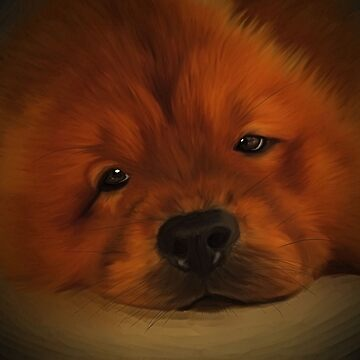 Udon the Chow Chow by CazzieCreations