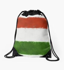 Hungary Flag Reworked No. 66, Series 5 Rucksackbeutel