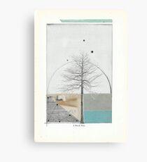A Tree Grows Canvas Print