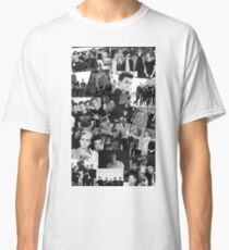 WDW Collages Black & White Classic T-Shirt
