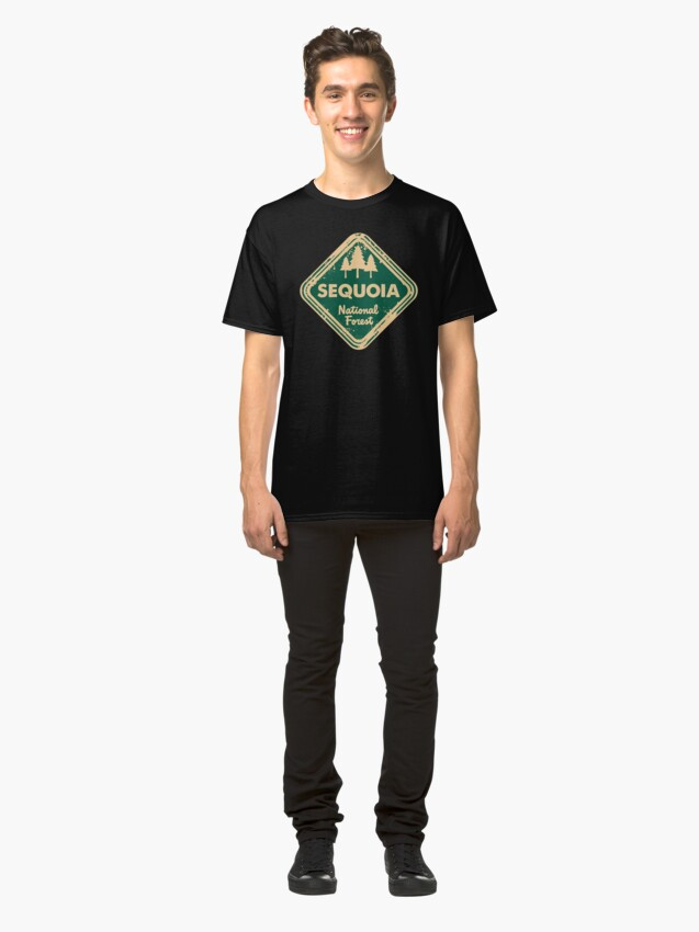 Alternate view of Sequoia National Forest Classic T-Shirt