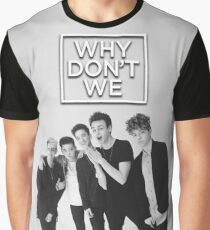 Why Don't We Black White Poster Graphic T-Shirt