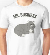 Mr. Business Cat Unisex T-Shirt