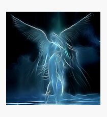 Sarah's Angel Photographic Print