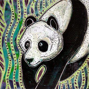 Panda by LynnetteShelley