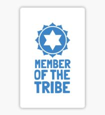 Member of the Tribe: Go Jews! Sticker