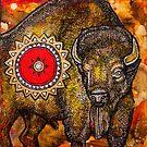 American Bison by Lynnette Shelley