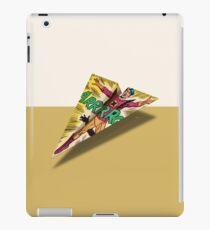 Argh Comics Panel 1 Paper Airplane iPad Case/Skin