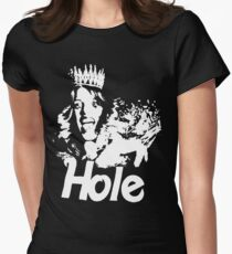 Hole Women's Fitted T-Shirt