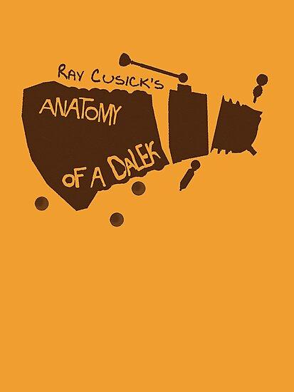 Anatomy of a Dalek by ToneCartoons