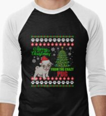 Merry Christmas From Pug Dog Ugly Sweater T Shirt T-Shirt
