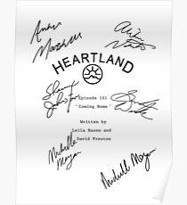 Heartland Script Poster