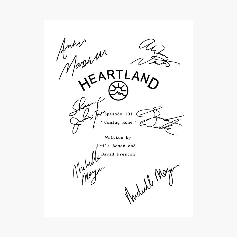 Heartland-Skript Fotodruck