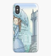 Mysterious gothic lady iPhone Case/Skin