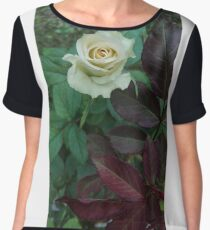 White rose Women's Chiffon Top