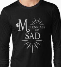 Millennials are Sad v2 Long Sleeve T-Shirt