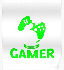 Sleep With A Gamer T Shirt, I Love Gaming T Shirt Poster