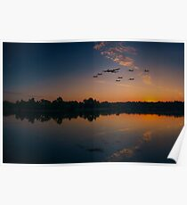 Warbird Reflections  Poster